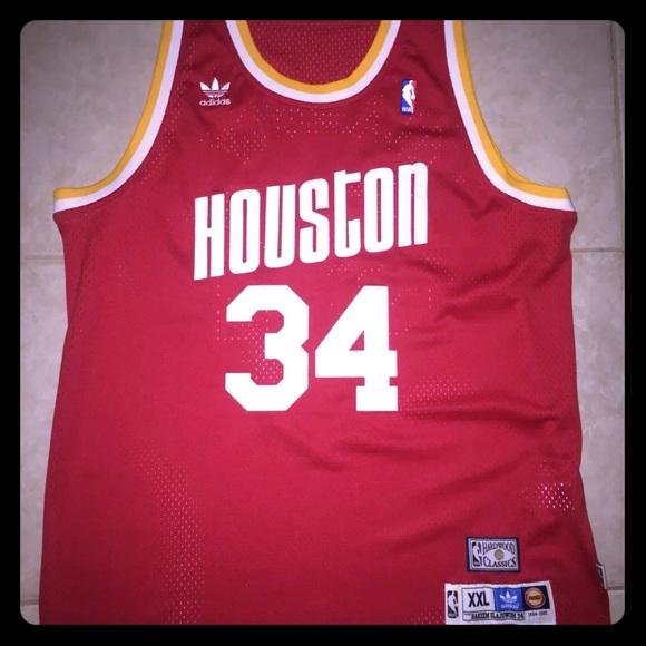 Houston Rockets Hakeem Olajuwon Classic Jersey 46233db1c